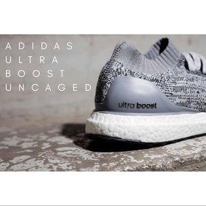 Adidas Ultra Boost Uncaged Light Grey/Hot Pink